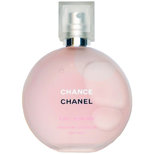 (現貨+預購) 香奈兒 CHANEL CHANCE 粉紅甜蜜隔離髮香霧 35ML ☆真愛香水★