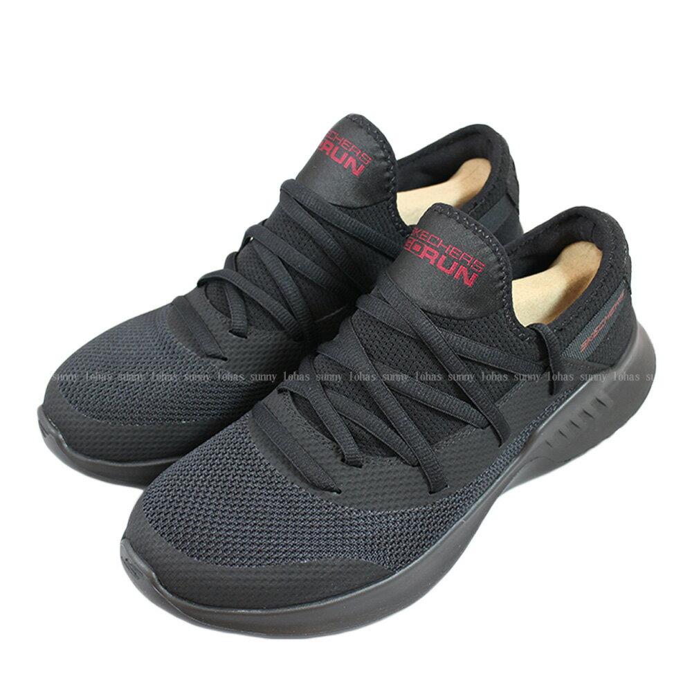 (B1) SKECHERS GO RUN MOJO2.0 全黑網 襪套式 男 休閒鞋 55123BBK [陽光樂活]
