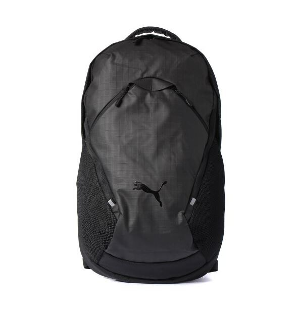PUMA Ultimate Pro後背包 雙肩  筆電 黑~ 世界~07508501