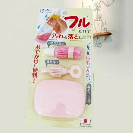 [敵富朗超市]阿卡將攜帶式魔法奶瓶刷組