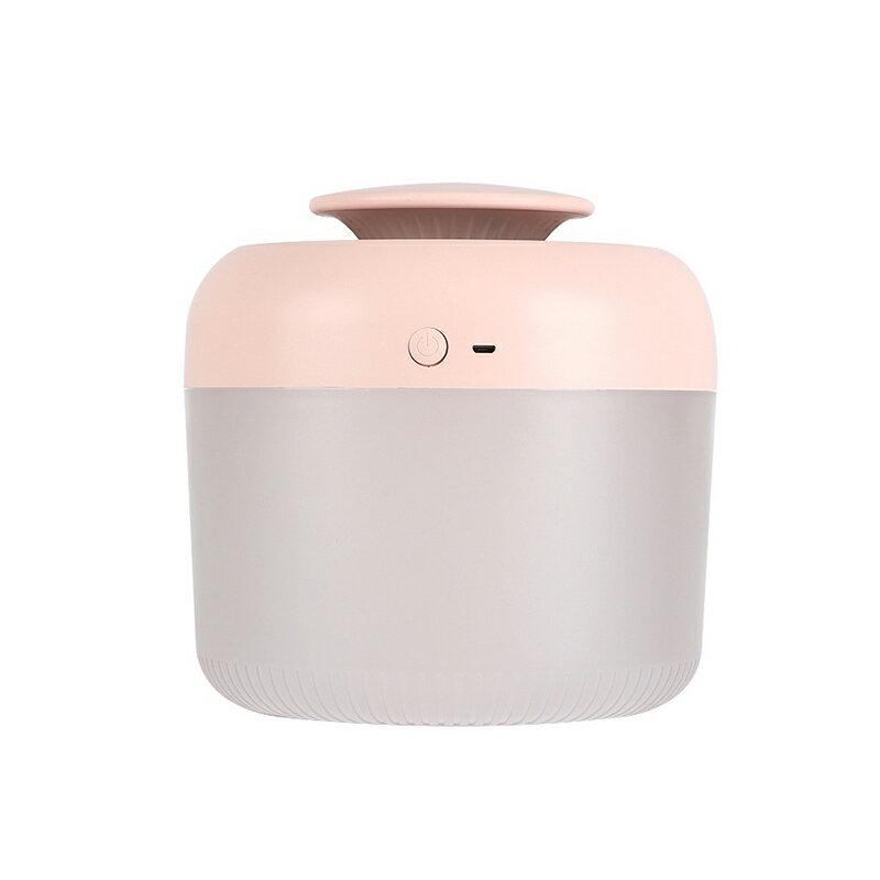 簡易加水大容量夜燈加濕器 2.4L EMC國際檢測認證 水氧機 薰香機 精油燈 靜音噴霧機【VA0204】《約翰家庭百貨