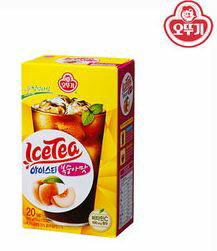 【韓新館】오뚜기 奧多吉 水蜜桃風味冰紅茶粉