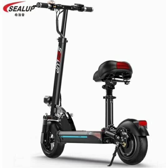 電動滑板車 電動滑板車成人折疊代駕兩輪代步車迷你電動車電瓶 MKS多色小屋