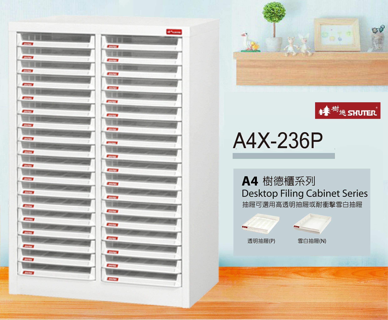 【樹德收納系列】 檔案櫃 資料櫃 公文櫃 收納櫃 效率櫃 落地型文件櫃 A4-236P