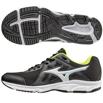 K1GA170301(黑X白)一般型鞋款 MIZUNO SPARK 男慢跑鞋 S【美津濃MIZUNO】