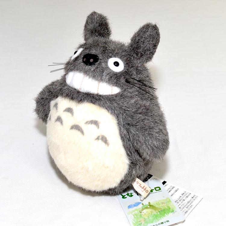 TOTORO 18cm龍貓玩偶 完整呈現動畫毛絨絨質感 日本帶回正版商品 宮崎駿