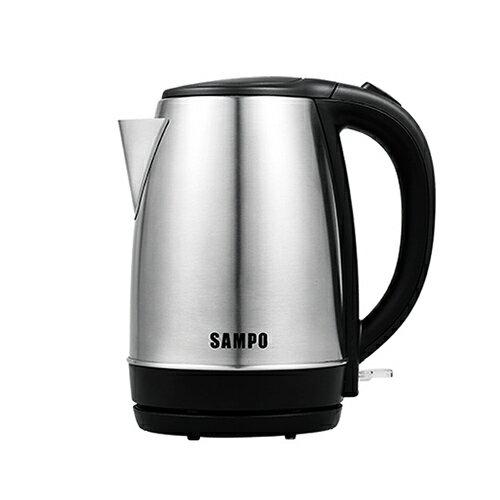 聲寶 SAMPO 1.7L溫控不鏽鋼快煮壺 /台 KP-CF17S