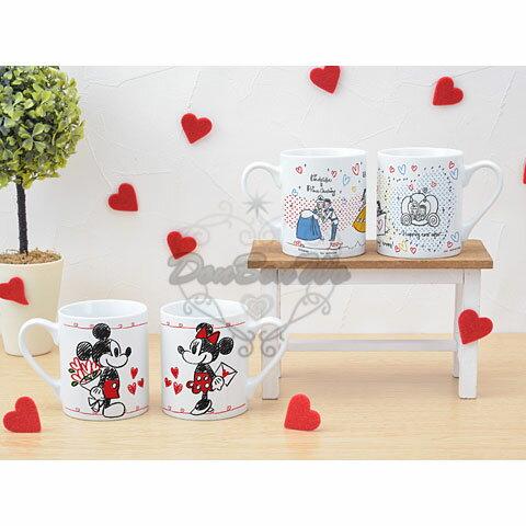 白雪公主陶瓷馬克杯組情侶對杯