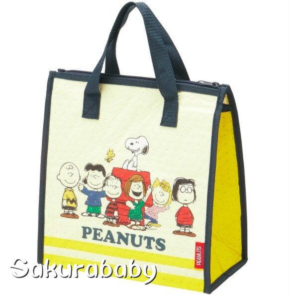 史奴比 不織布保冷袋 便當袋 保冷袋 大容量 櫻花寶寶