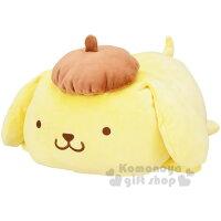 布丁狗周邊商品推薦到〔小禮堂〕布丁狗 造型絨毛玩偶娃娃《XL.黃.趴姿》