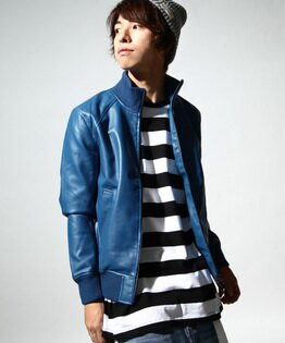 皮衣 藍色
