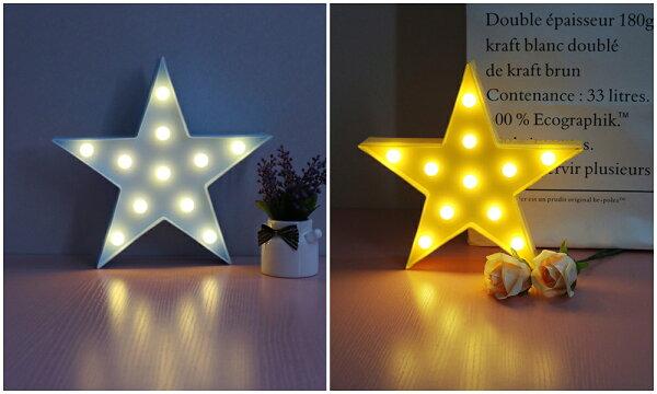 X射線 精緻禮品:X射線【C220004】LED造型夜燈-星星(黃藍2色選1),電池燈蠟燭佈置裝飾擺飾夜燈桌上裝飾道具交換禮物