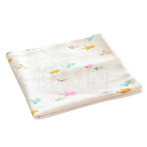 tinytwinkle-SwaddleBlanketSingle紗布巾(小鳥)TT-1127【悅兒園婦幼生活館】