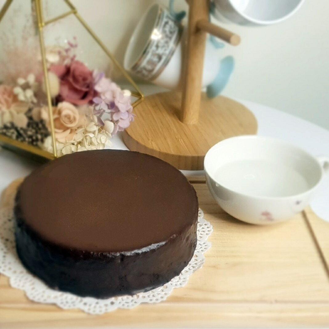 】比利時生巧克力蛋糕 70%  (老婆乳酪蛋糕)