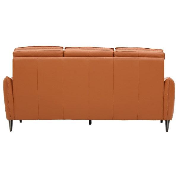 ◎(OUTLET)HTL高級全皮3人用沙發 H624 OR 福利品 NITORI宜得利家居 3