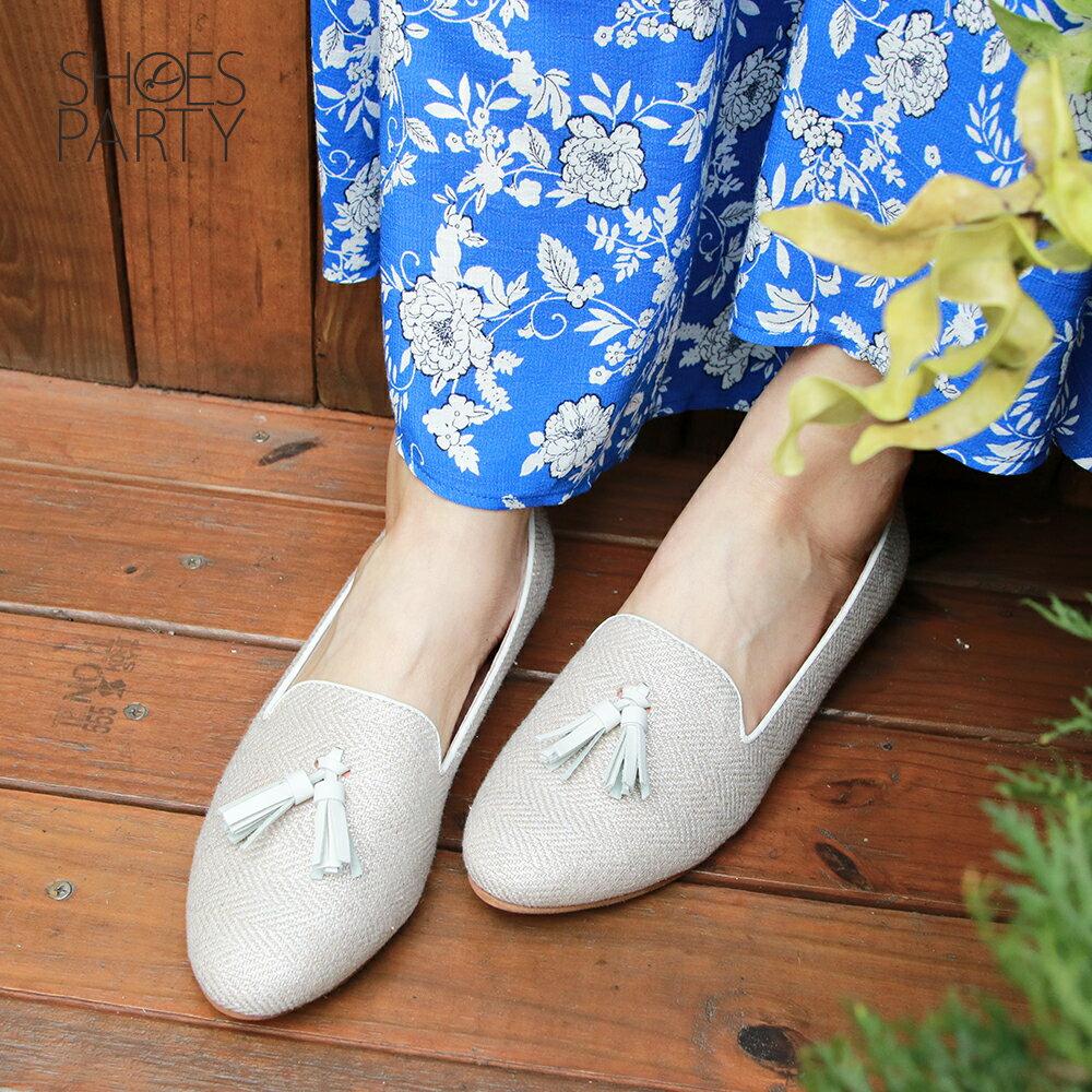 【P2-19426F】海軍風流蘇歐貝拉_Shoes Party 2