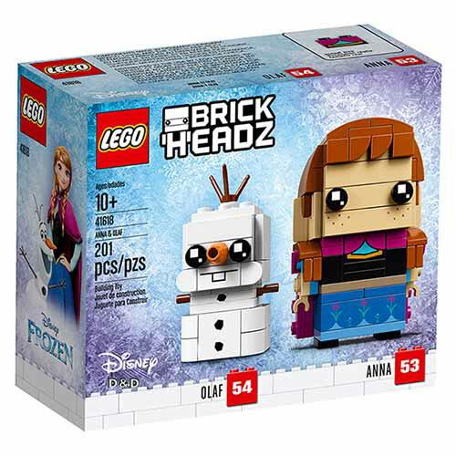 樂高積木LEGO《LT41618》2018年Brickheadz積木人偶系列-冰雪奇緣安娜和雪寶Anna&OlafV29