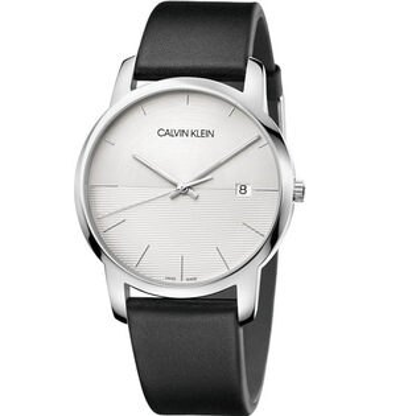 Calvinklein卡文克萊都會系列(K2G2G1CD)簡約時尚大方腕錶銀白42mm