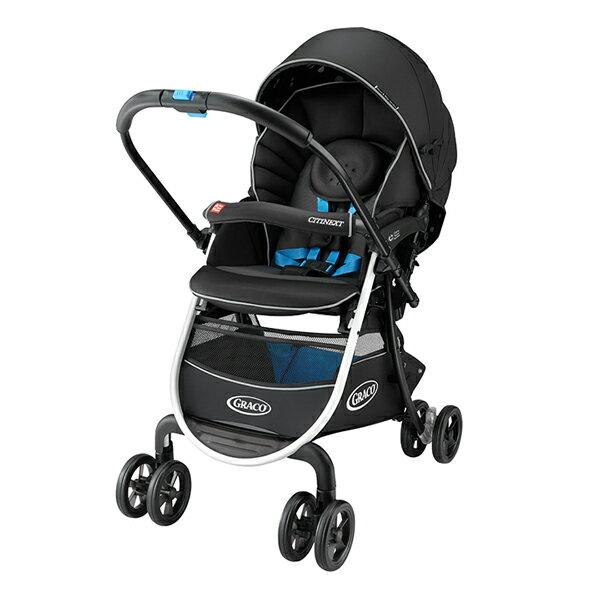 Graco - CITINEXT CTS 豪華休旅 購物型雙向嬰幼兒手推車 黑色曙光 - 限時優惠好康折扣