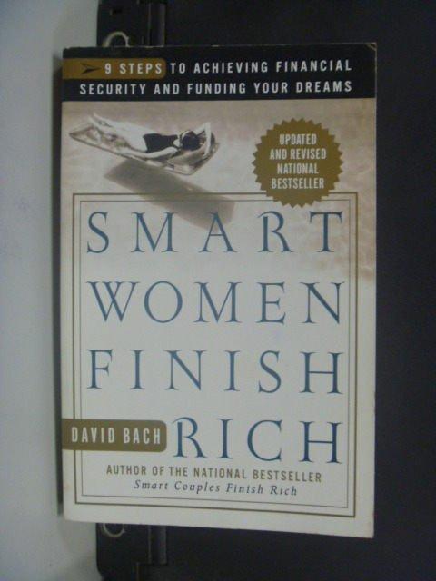 【書寶二手書T5/投資_JET】Smart Women Finish Rich_Bach, David