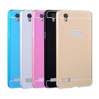 【預購】OPPO Mirror 5S A51T 手機套 金屬邊框+亞克力背板二合一 歐普A51T 背蓋保護殼