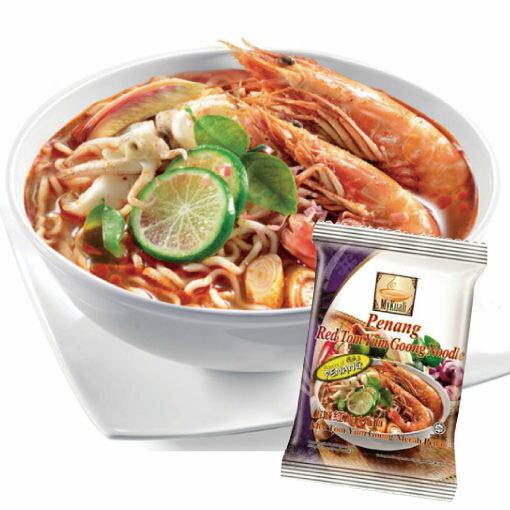 馬來西亞 檳城 紅酸辣湯麵105g (單包入) MyKuali 檳城麵【櫻桃飾品】【25015】