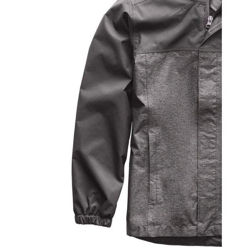 美國百分百【The North Face】連帽外套 TNF 北臉 夾克 保暖 防水 透氣 灰色 XS號 J823