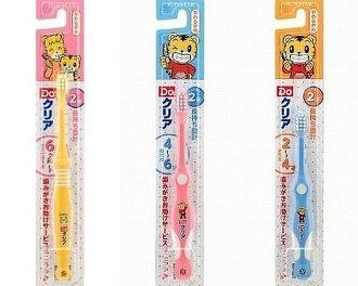 現貨 日本帶回 人氣王 巧虎兒童三階段牙刷 6個月~6歲