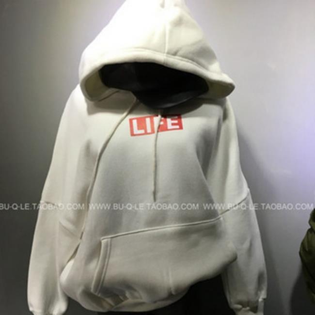 50%OFF【G019848C】韓國秋季女裝字母連帽衫衛衣學院風閨蜜裝加絨衛衣外套