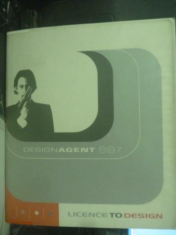 【書寶二手書T6/設計_QYD】Designagent Km7: License to Design_Klaus Mai