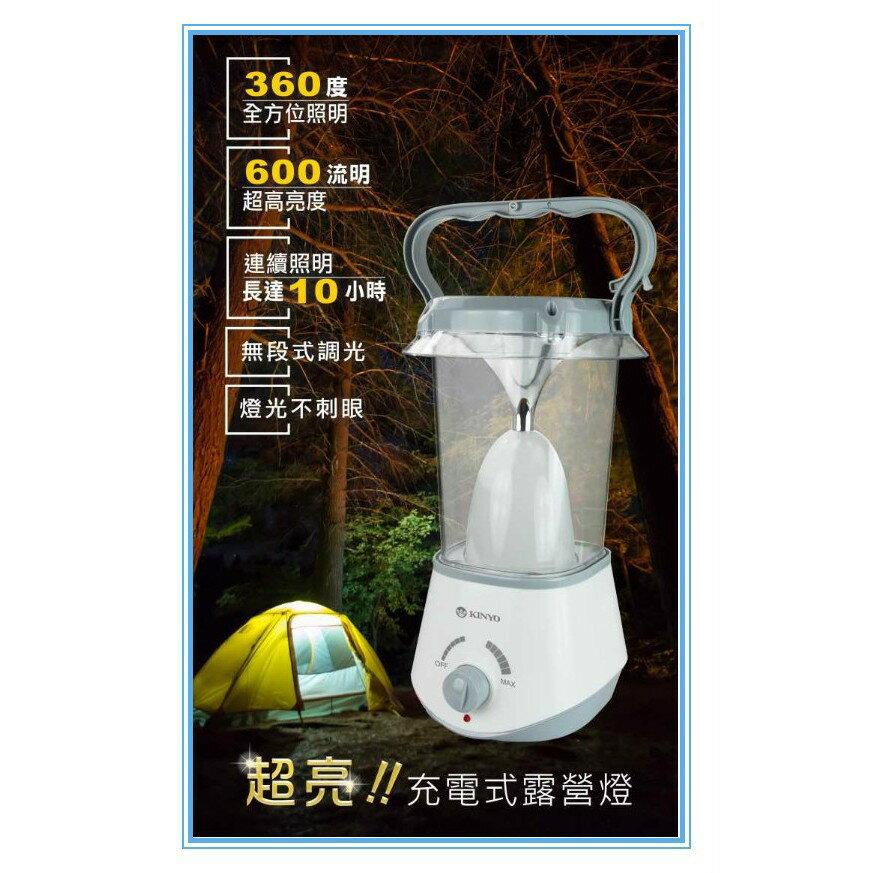 耐嘉 KINYO CP-02 LED 無線充電式露營燈