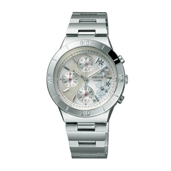 CITIZEN星辰WICCA(FA1008-54D)白茉莉時尚腕錶/白面32mm