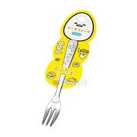 蛋黃哥週邊商品推薦日本製蛋黃哥 Gudetama 不鏽鋼叉子 13.3cm環保餐具 環保 開學 便當盒 日本進口正版 172167