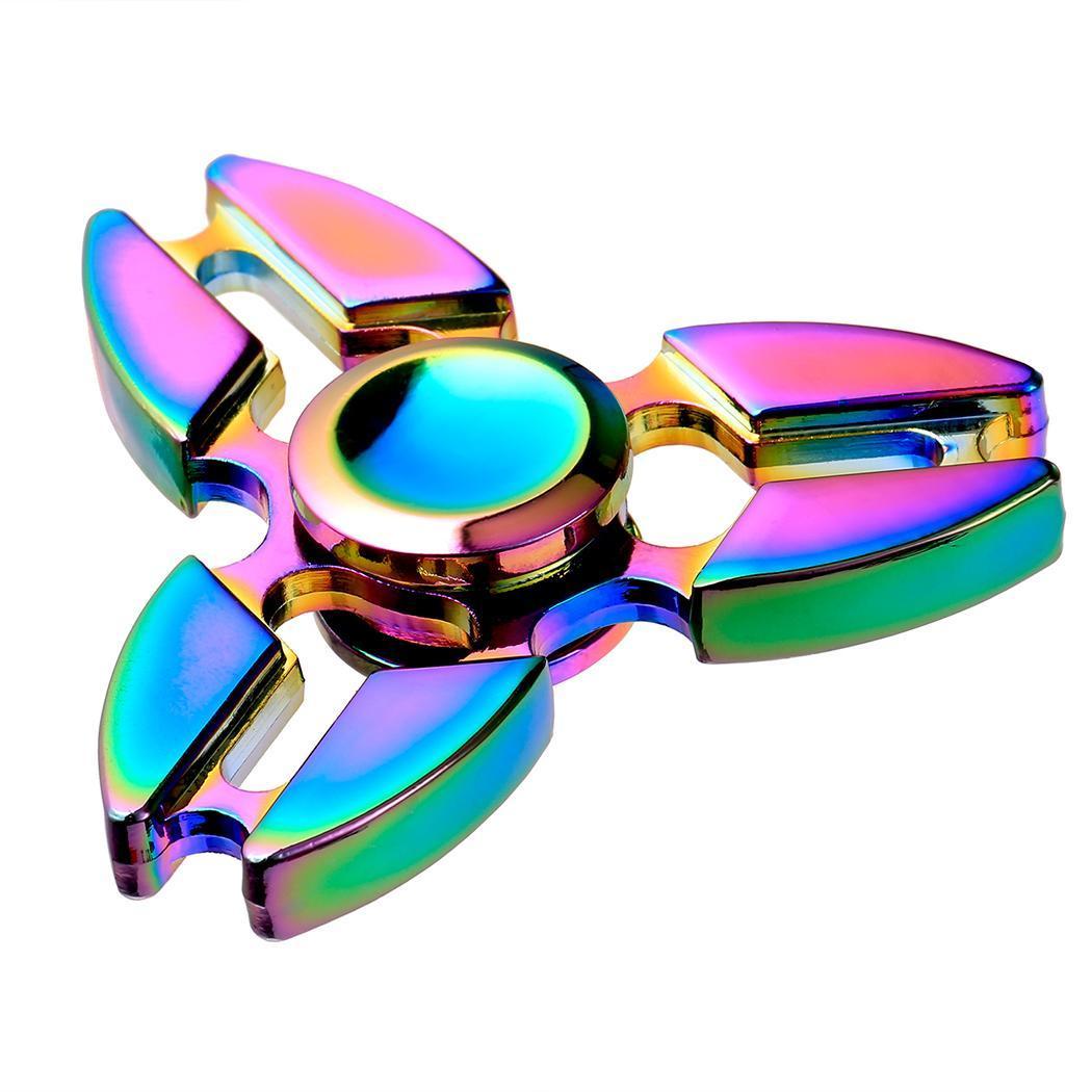 Hand Spinner 360 Fidget Desk Stress Reducer EDC Focus Toy 4