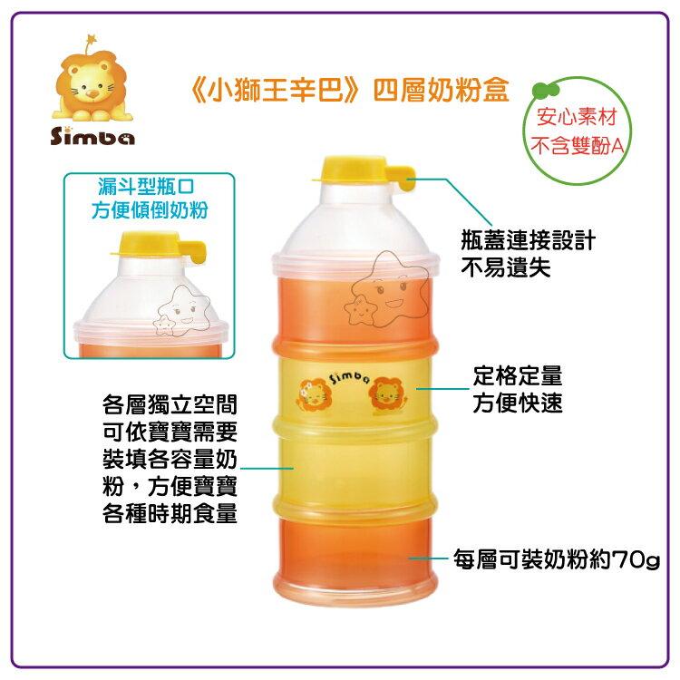 【大成婦嬰】Simba 小獅王 四層奶粉盒 (S1211) 0