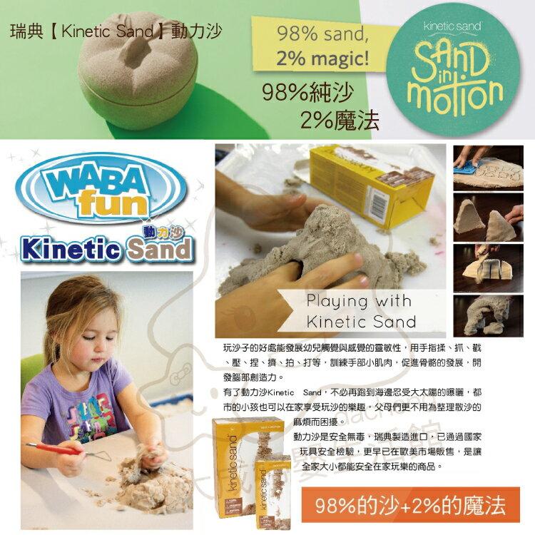 【大成婦嬰】瑞典 Kinetic Sand 動力沙(150101) 1kg 另有販售5KG 1