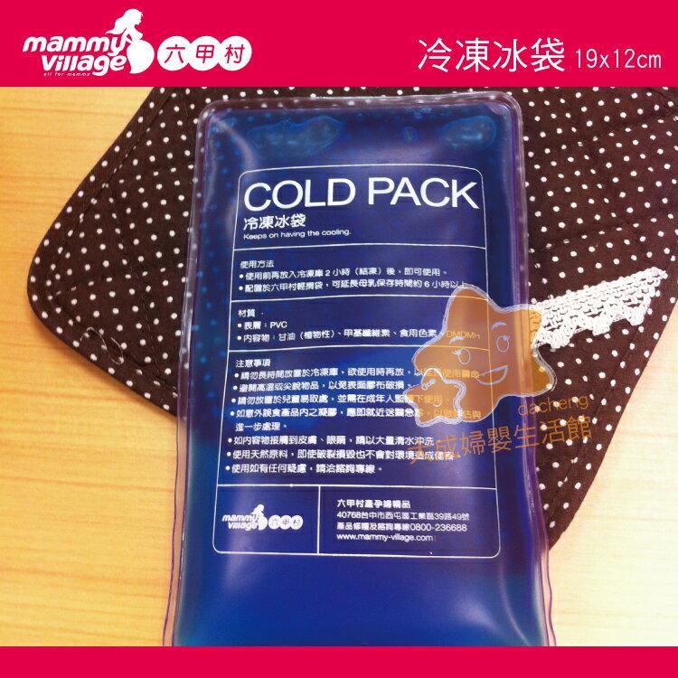 【大成婦嬰】mammy village 六甲村 冷凍冰袋 98804 保冷劑 外出 保冷 延長冷藏商品時間