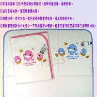 【大成婦嬰】KUKU 酷咕鴨(兩用雙面)毛巾布 紗布四方大浴巾2122 吸水力強可當包巾.涼被使用 1