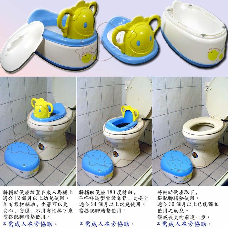 【大成婦嬰】ST BABY-羊咩咩多功能學習便器 馬桶*多功能4合1 快樂學習上廁所 2