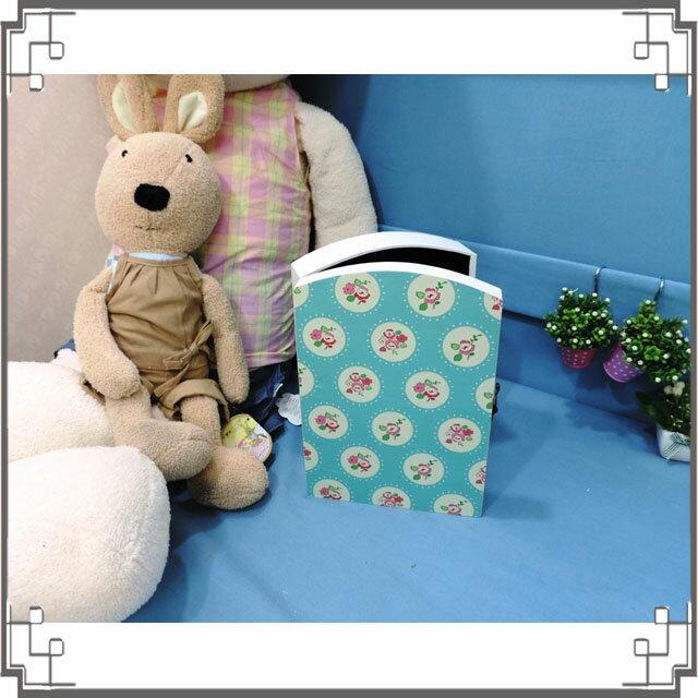 皮革KEY BOX《LK18-2》鄉村玫瑰木製皮革鑰匙盒 收納盒 壁櫃 壁飾 居家布置◤彩虹森林◥