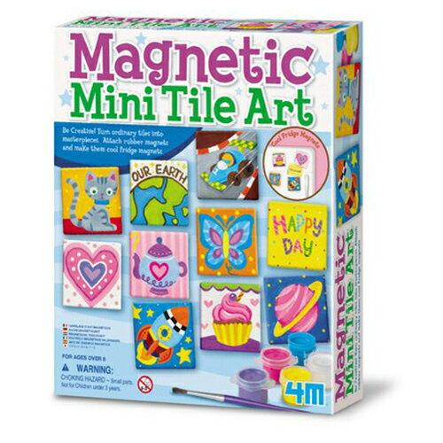 ~ 4M 美勞創作~ 塗鴉磚 Magnetic Tile Art