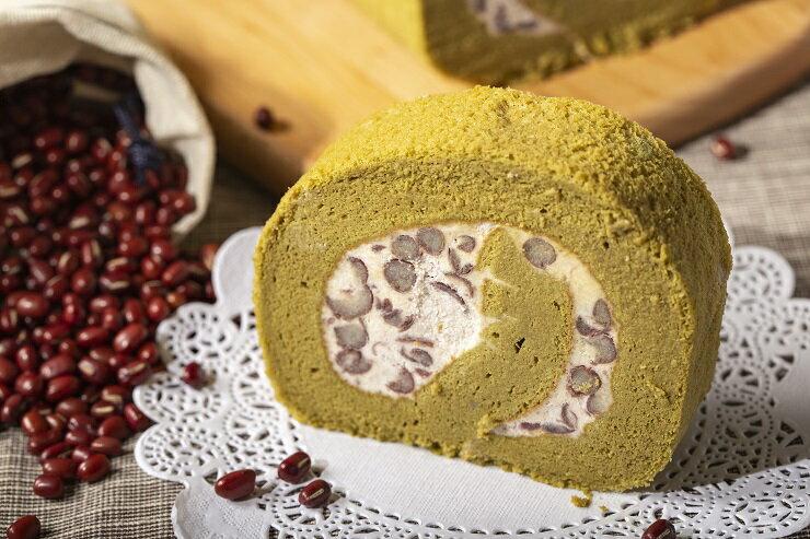 ❤抹茶紅豆生乳卷 ❤抹茶蛋糕  ❤人氣團購甜點 ❤伴手禮最佳選擇  570g 1