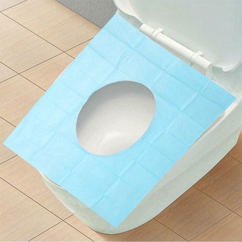 出差旅遊一次性拋棄式防水抗菌馬桶墊10片裝乾淨衛生
