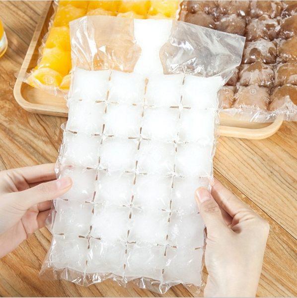 創意一次性封口製冰袋 DIY冰袋 冰塊模具 一包10入 B60303【H00710】