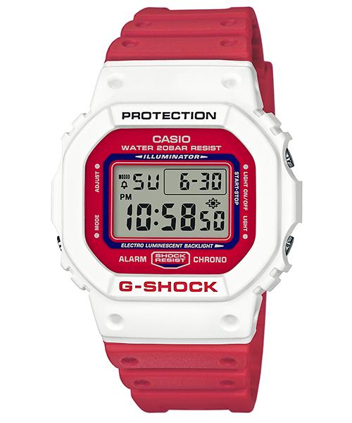 CASIO G-SHOCK DW-5600TB-4A 多彩數位撞色時尚腕錶/48.9*42.8mm