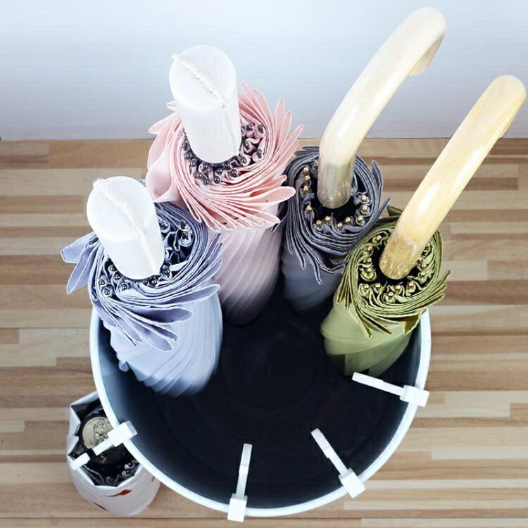 雨傘架家用 歐式現代時尚簡約家居鐵藝辦公雨傘桶 創意雨傘收納桶 果果輕時尚