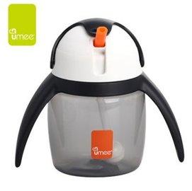 【淘氣寶寶】荷蘭Umee優酷企鵝水杯(黑)240ml【保證原廠公司貨】