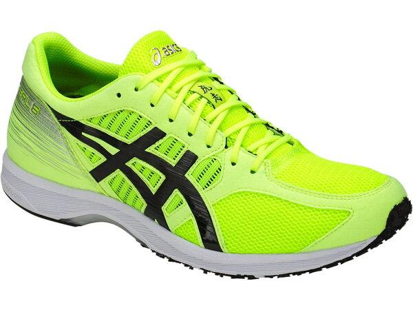 ASICSTARTHERZEAL6男鞋慢跑馬拉松彈性機能透氣耐磨螢光綠【運動世界】T821N-0790