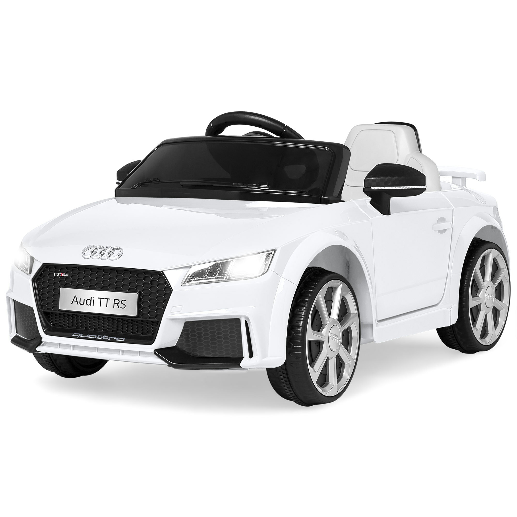 Best Choice Products 6V Kids Audi TT RS Ride On Car W/ Parent Control,