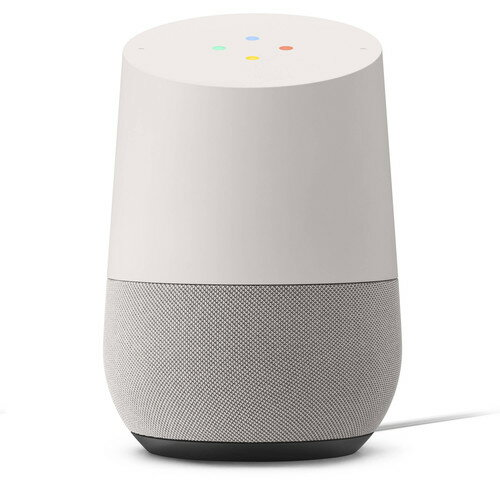 Google Home (White Slate) Android & Higher iOS, Dual-Band Wi-Fi Connectivity 0